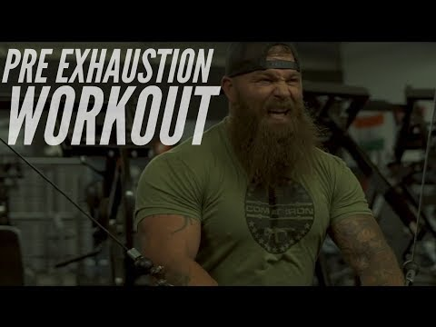 PRE EXHAUSTION CHEST WORKOUT