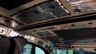 Шумоизоляция крыши автомобиля Рено Логан/Renault Logan(В данном видео я покажу как разбирается крыша машины Рено Логан затем наклеим виброизоляцию фирмы vm 4 мм..., 2014-10-30T16:53:56.000Z)