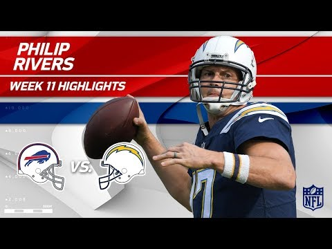 Philip Rivers Leads LA to a Big Victory vs. Buffalo! | Bills vs. Chargers | Wk 11 Player Highlights