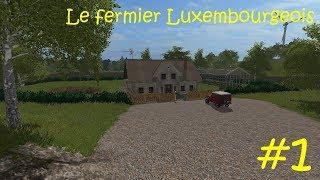 Arrivée sur Farming Simulator 17 et plus précisément sur une map Luxembourgeoise by B3M Team ( W.I.P pas de demande de lien sous peine de ban de la chaîne) ! Au programmes de l'agriculture et des fails !!!  ------------------------------------------------