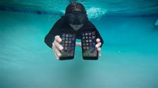iPhone 7 and Apple Watch Series 2 Underwater Tests