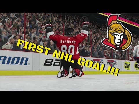 FIRST NHL GOAL | NHL 18 | Ottawa Senators Be A Pro Ep. 2