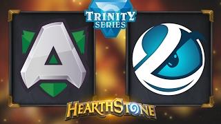 Hearthstone - Alliance vs. Luminosity - Hearthstone Trinity Series - Day 10