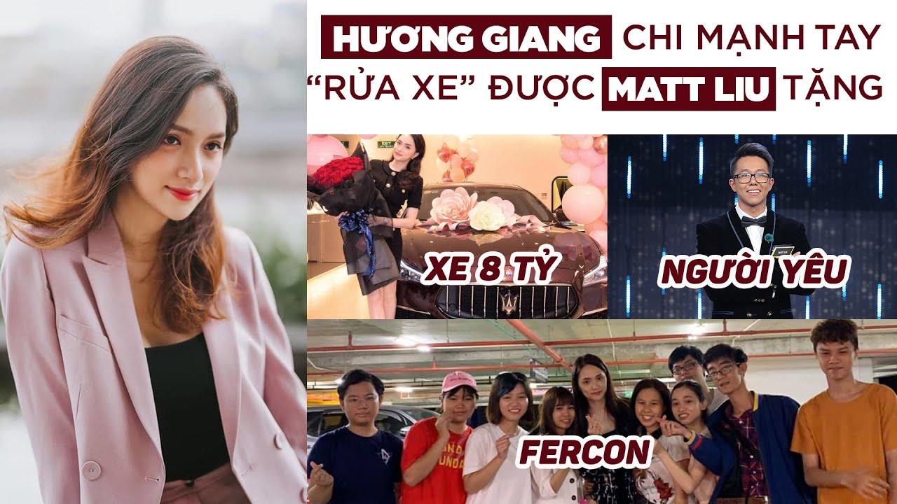Vừa được tặng xe 8 tỷ, Hương Giang đã chi mạnh tay đãi FERCON từ A đến Z Gia Đình Việt