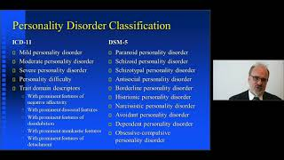 Michael First: Personality disorders in ICD-11 and DSM-5
