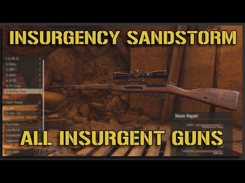 ALL Insurgency Sandstorm INSURGENT ASSETS + WEAPONS - Insurgency Sandstorm Gameplay [Beta One]