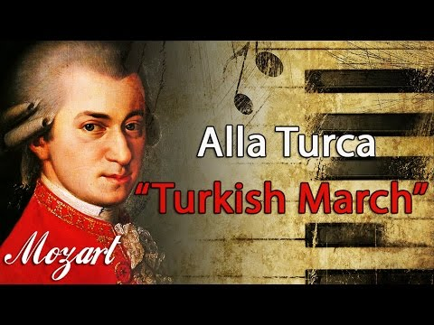 Mozart  Alla Turca Turkish March 1 HOUR Classical Music for Studying and Concentration Piano
