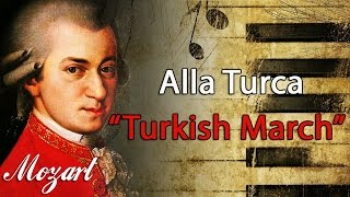 "Mozart - Alla Turca ""Turkish March"" (1 HOUR) Classical Music for Studying and Concentration Piano"