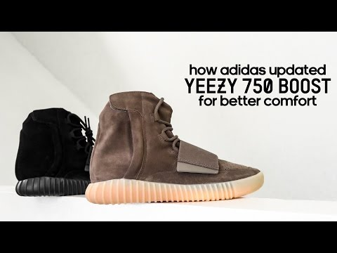 How adidas Updated Yeezy 750 Boost for Better Comfort