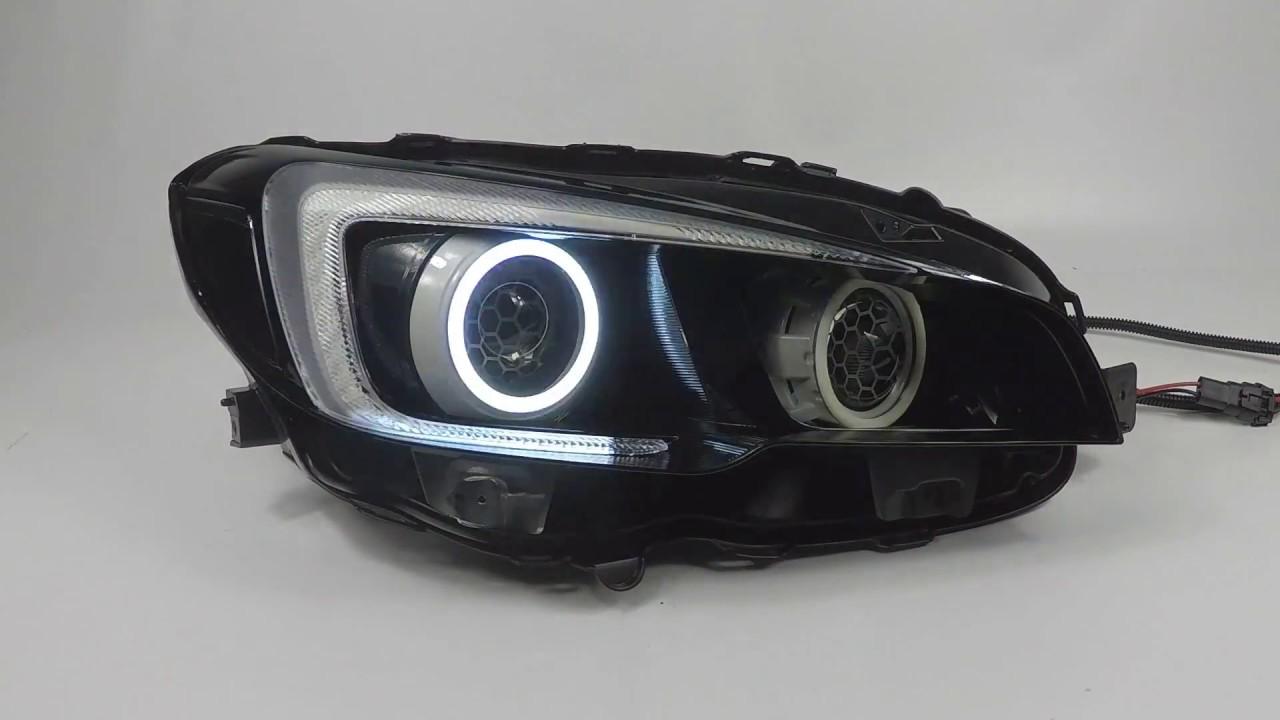 2015 Subaru Impreza - Quad Projectors - Demon Eyes - XSB ...