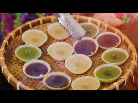 Bếp cô Minh | tập 17: hướng dẫn cách làm bánh bèo ngọt | các bước rút gọn