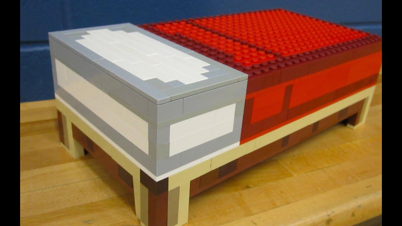 Lego Bed Minecraft Youtube