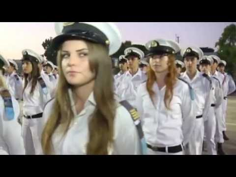 Israeli Navy school graduation (IDF Israel Defense Forces Israeli soldiers women girls israeli army)