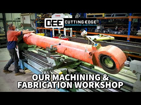 Our Machining & Fabrication Workshop | Cutting Edge Engineering Australia