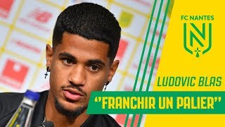 "Ludovic Blas : ""Franchir un palier"""