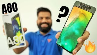 Samsung Galaxy A80 Unboxing & First Look + Giveaway | 48MP Triple Rotating Camera🔥 thumbnail