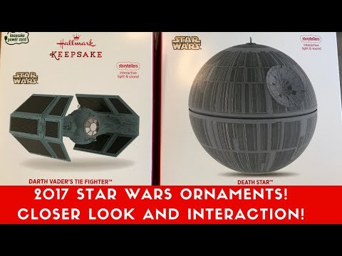 2017 Interactive Star Wars Ornaments!
