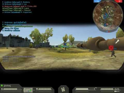 Battlefield 2 { สงครามสองข้างทาง  } { Gulf of Oman Map}