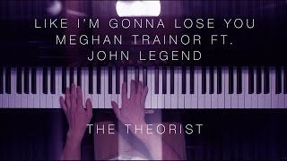 Meghan Trainor ft. John Legend - Like I'm Gonna Lose You | The Theorist Piano Cover