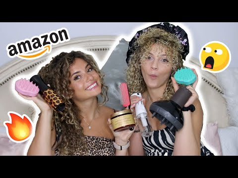 10 CURLY HAIR MUST HAVE PRODUCTS (our Amazon Favorites)