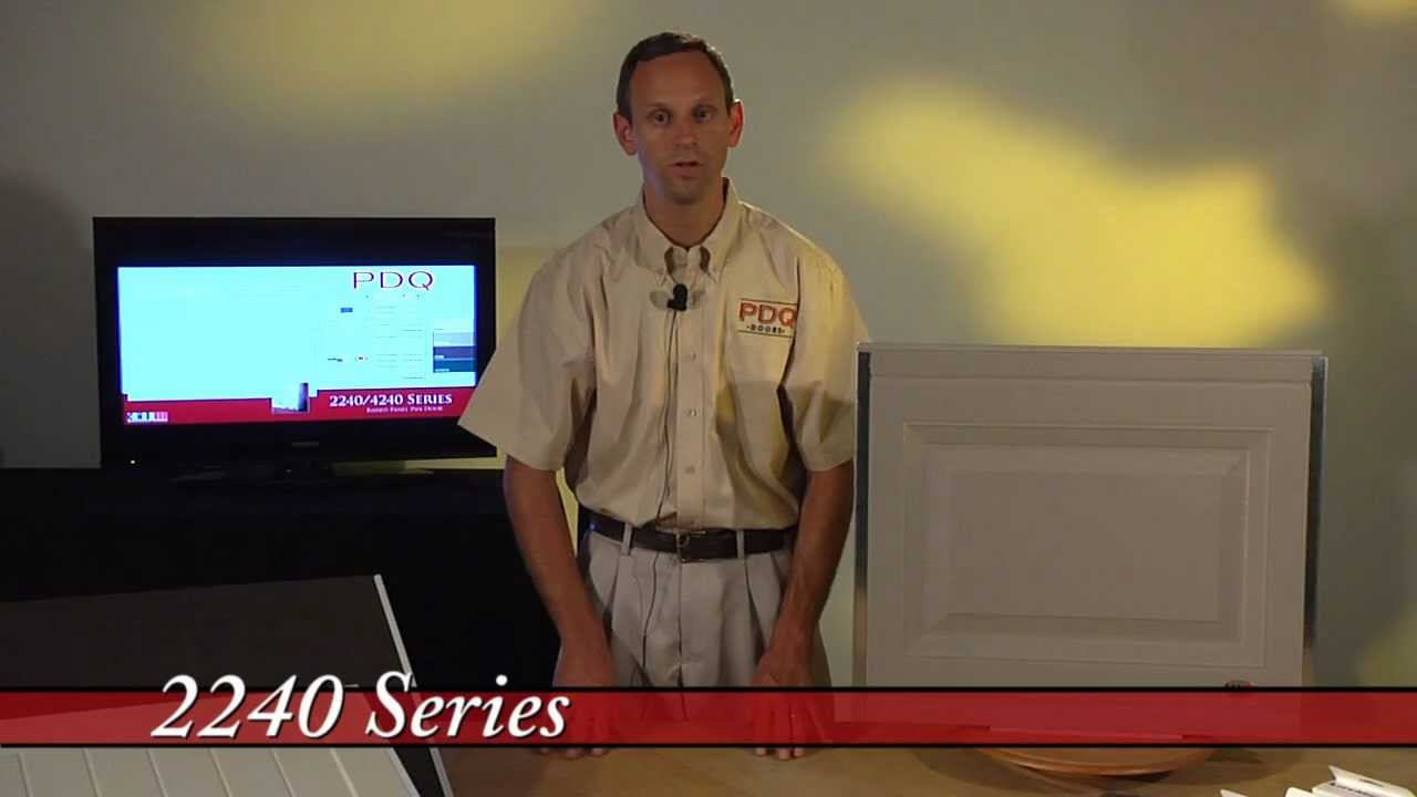 CHI Model 2240 Raised Panel Garage Door from PDQ Doors Cincinnati Ohio  sc 1 st  YouTube & CHI Model 2240 Raised Panel Garage Door from PDQ Doors Cincinnati ...
