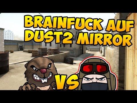 CS:GO - Brainfuck auf Dust2 Mirror - Funwar vs. Bibacrew!