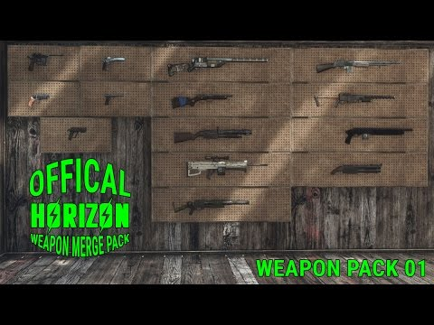 Official Horizon Weapon Merge Pack at Fallout 4 Nexus - Mods