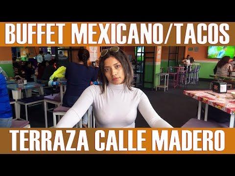 Buffet de tacos, antojitos y comida Mexicana CDMX