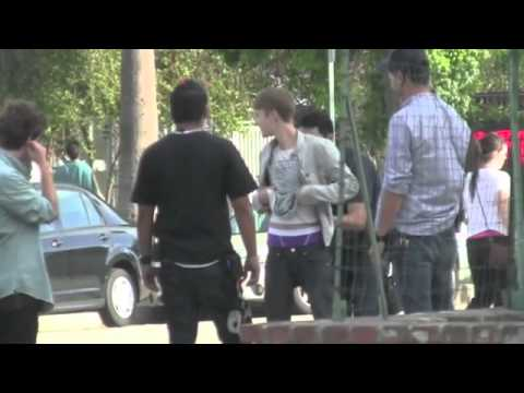 Justin Bieber Street Fighting?
