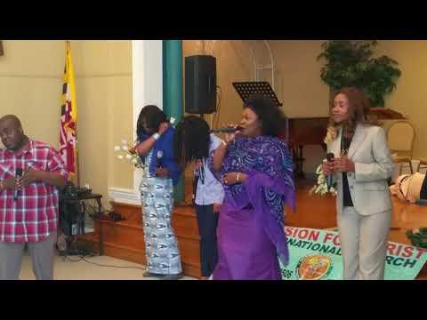 08 Adonai we worship you   Groupe Psaume 150    MFCI Church   Culte du 10 Dec 2017