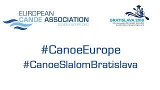 2018 ECA Junior&U23 Canoe Slalom European Championships – Semifinal | Jun&U23 | K1M, C1W | Odd