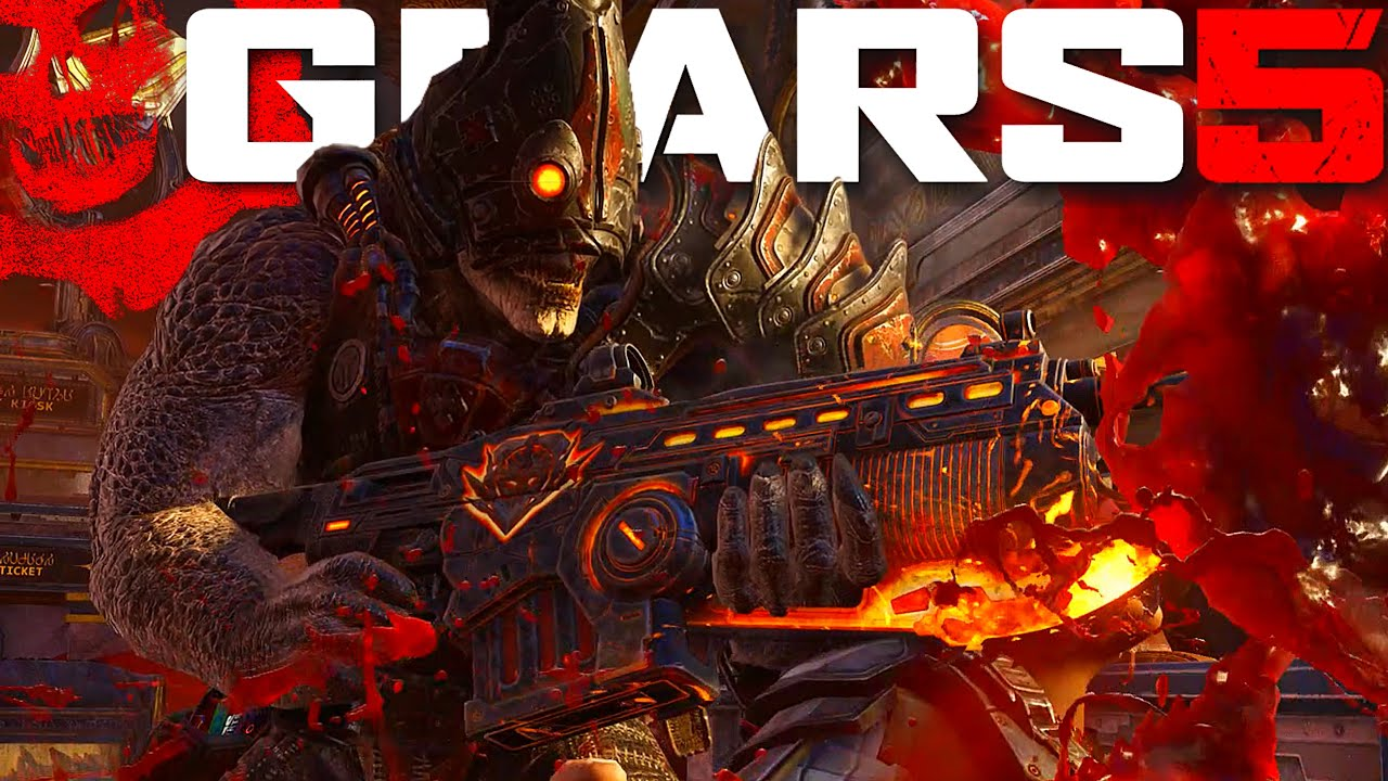 ALL CHAINSAW/BEATDOWN EXECUTIONS   WITH LOCUST CYCLOPS   Gears Of War 5 thumbnail