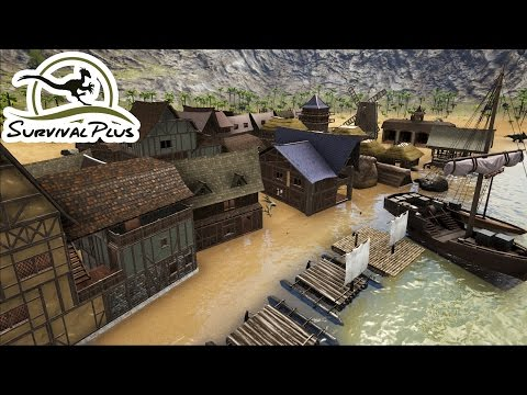 🔨ALL THE CARPENTER BUILDINGS YOU CAN MAKE IN THE SURVIVAL PLUS MOD of Ark Survival Evolved