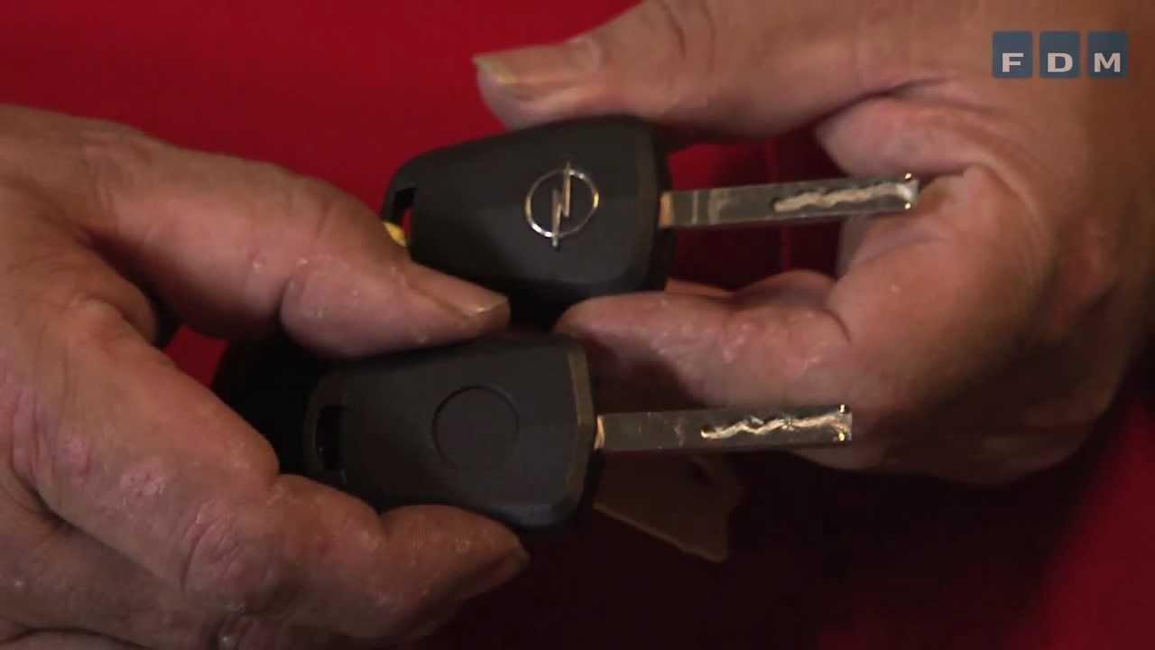 omkodning af bilnøgle