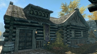 Skyrim PS4 Mods: TNF Honeyside (Family Friendly House)