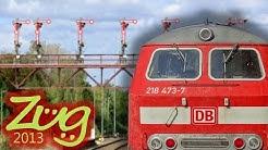 Zug2013: RE Bad Harzburg-Hannover mit BR218 + n-Wagen (2014)