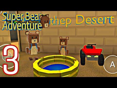 Super Bear Adventure Walkthrough Bee Mothep Desert Part 3 Prince AKG Gameplay