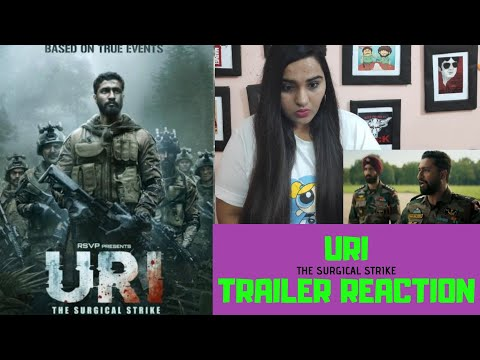 URI| TRAILER REACTION| VICKY KAUSHAL| YAMI GAUTAM| ADITYA DHAR| RONNIE SCREWVALA