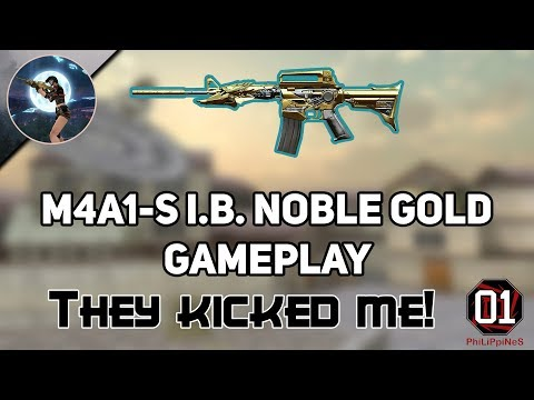 CrossFire: M4A1-S Iron Beast Noble Gold Gameplay