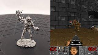 Doom Pewter Figurines by Reaper Miniatures