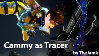SFV Mods - Cammy as Tracer from Overwatch (by TheJamk)