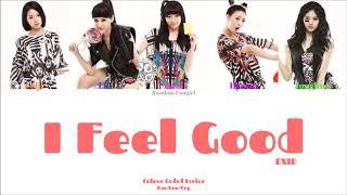 EXID (이엑스아이디) - I Feel Good [Colour Coded Lyrics Han/Rom/Eng…