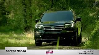 Spreen Honda - August 2018 Lease Specials