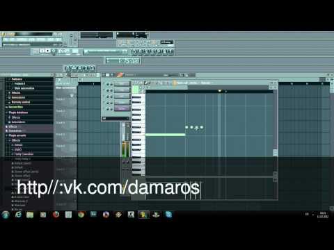 жеский клубняк урок Fl studio от dj damaros electro bass