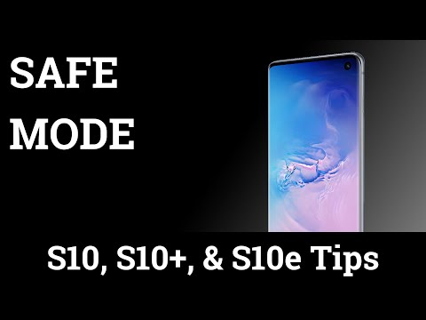 How To Boot The Samsung Galaxy S10 Into Safe Mode?