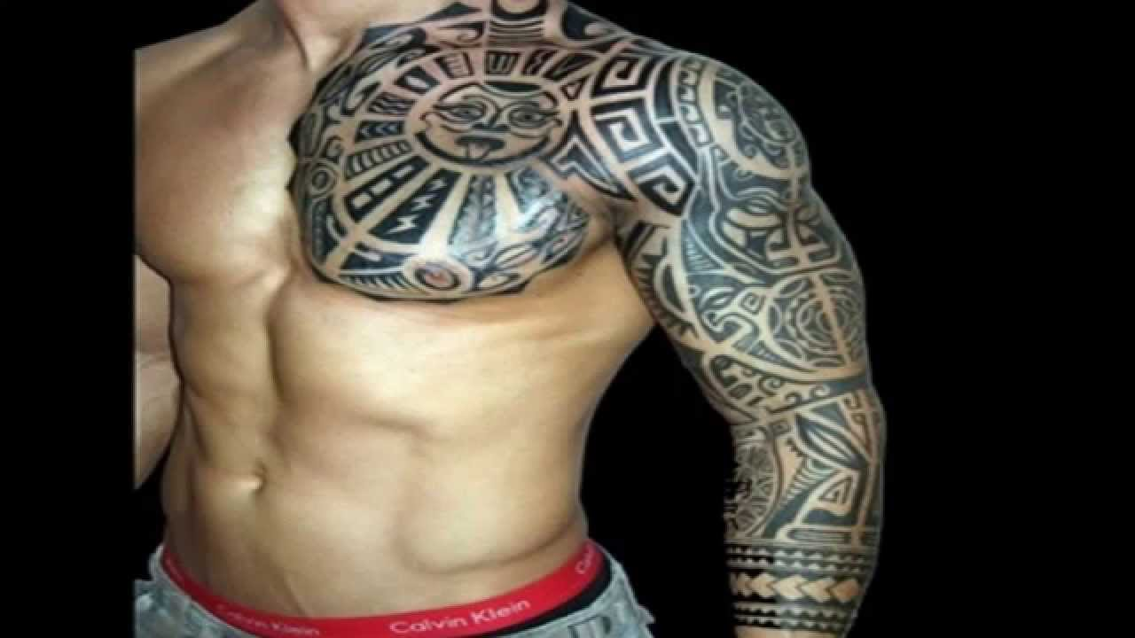 Simple Tribal Tattoo For Men