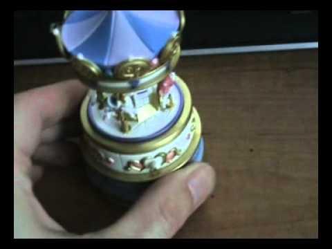 2005 Jewelry Box Carousel Hallmark Ornament YouTube