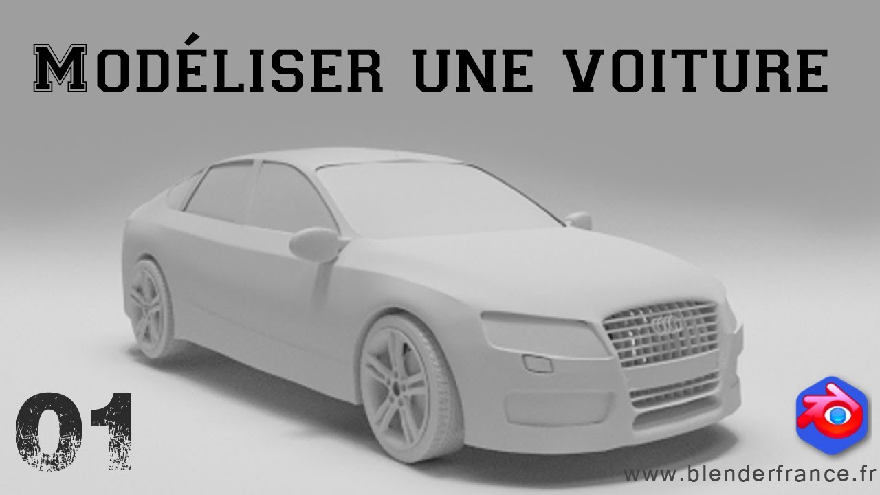 mod liser une voiture avec blender introduction et. Black Bedroom Furniture Sets. Home Design Ideas