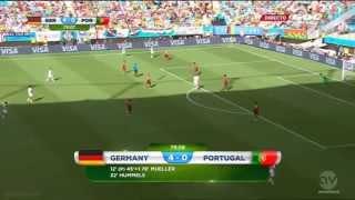 Germany vs Portugal 4-0