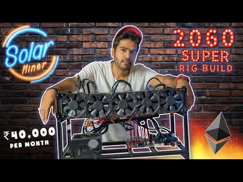 RTX 2060 Super Mining Rig Build  
